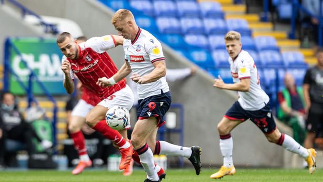 Bolton Wanderers forward Eoin Doyle 'having a hard time' as Ian Evatt sends message