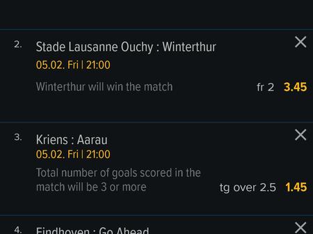 Today's 4 must win football prediction
