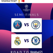 UEFA Champions League semi-finals are set, which team will reach the Istanbul Final?
