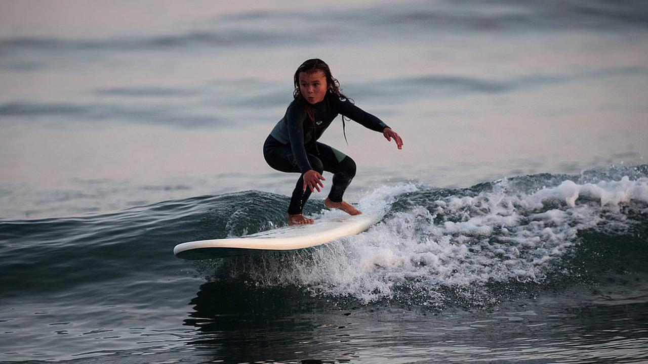 And now for surfing…20 year old Olympic sensation Sky Brown could ...