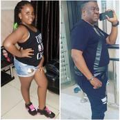 Check Out Lovely Pictures Of Mr Ibu And His Only Daughter