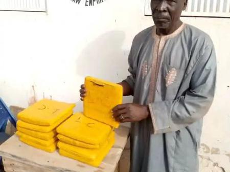 Good News As 70 Year Old Boko Haram Drug Supplier Was Arrested By NDLEA In Niger State.