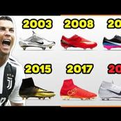 The Evolution Of Cristiano Ronaldo's Nike Boots From 2003 To 2020
