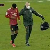 Machester United's Updates on Marcus Rashford his Injury