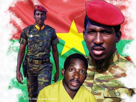 Meet Thomas Sankara, the military leader that was killed in a coup organized by his best friend
