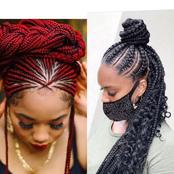 Latest And Stunning Braids Hairstyles You Should Consider Making This Week (photos)