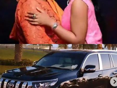 Regina Daniels Gifts Her Mother A N15M Prado Jeep As Birthday Gift. See photos