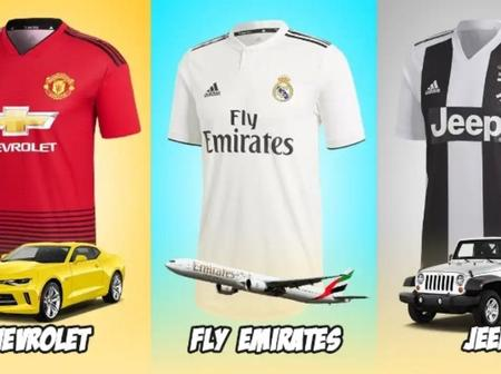Football Kits And Their Sponsors From 2018 To 2019