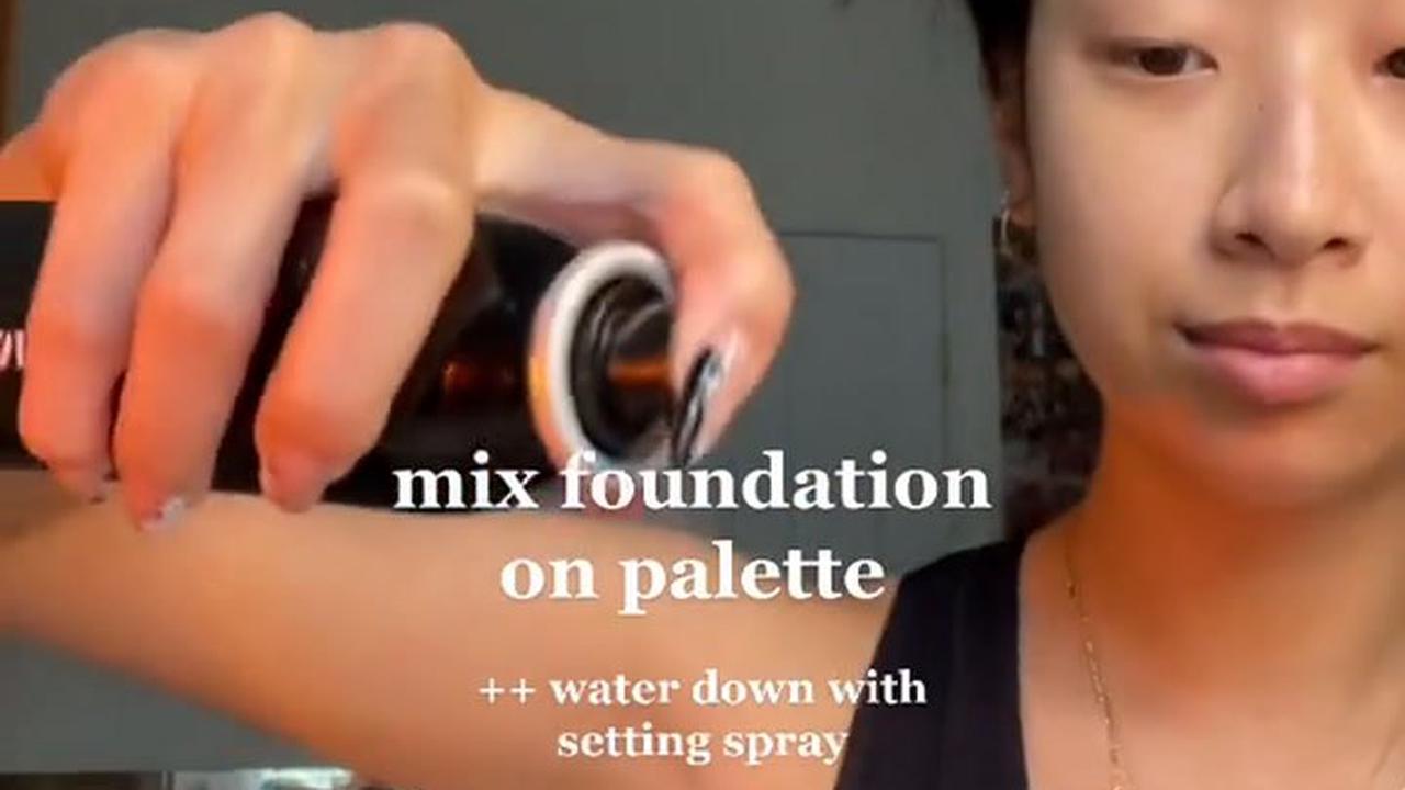 Irish makeup artist's clever beauty blender tip keeps skin looking young