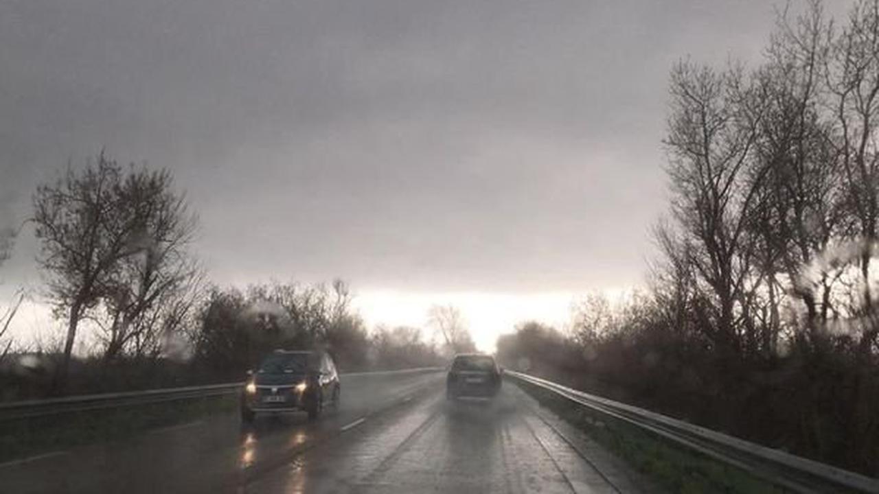 Météo. Plus d'un mois de pluie en quelques heures dans l'Aude