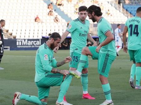 Sergio Ramos clashes with teammate after El Clasico win