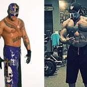 Haibo! Can You Believe Rey Mysterio Looks This Big Now?? See More Pictures