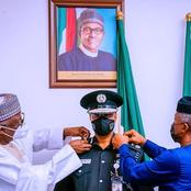 Buhari Reveals Main Reason Why he Chose Usman Alkali Baba as New IGP