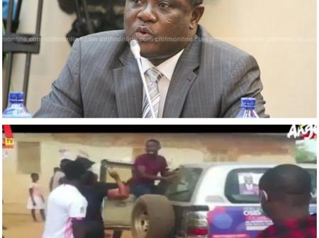First Deputy Speaker of Parliament chased out of Bekwai Constituency by angry members