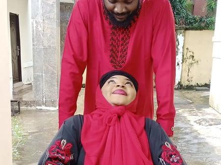 Fans Reacts To Romantic Photos Of Adam A. Zango And Aisha Tsamiya Online [PHOTOS]