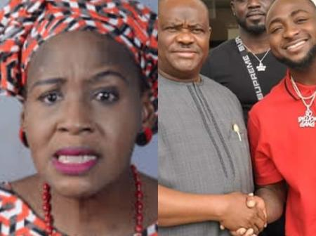 Davido Partnered With Wike In 2018 To Groom Upcoming Artistes, Yet Davido Hasn't Produced One- Kemi