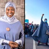 OPINION: Aisha Yesufu should stop protesting, it is against Islam