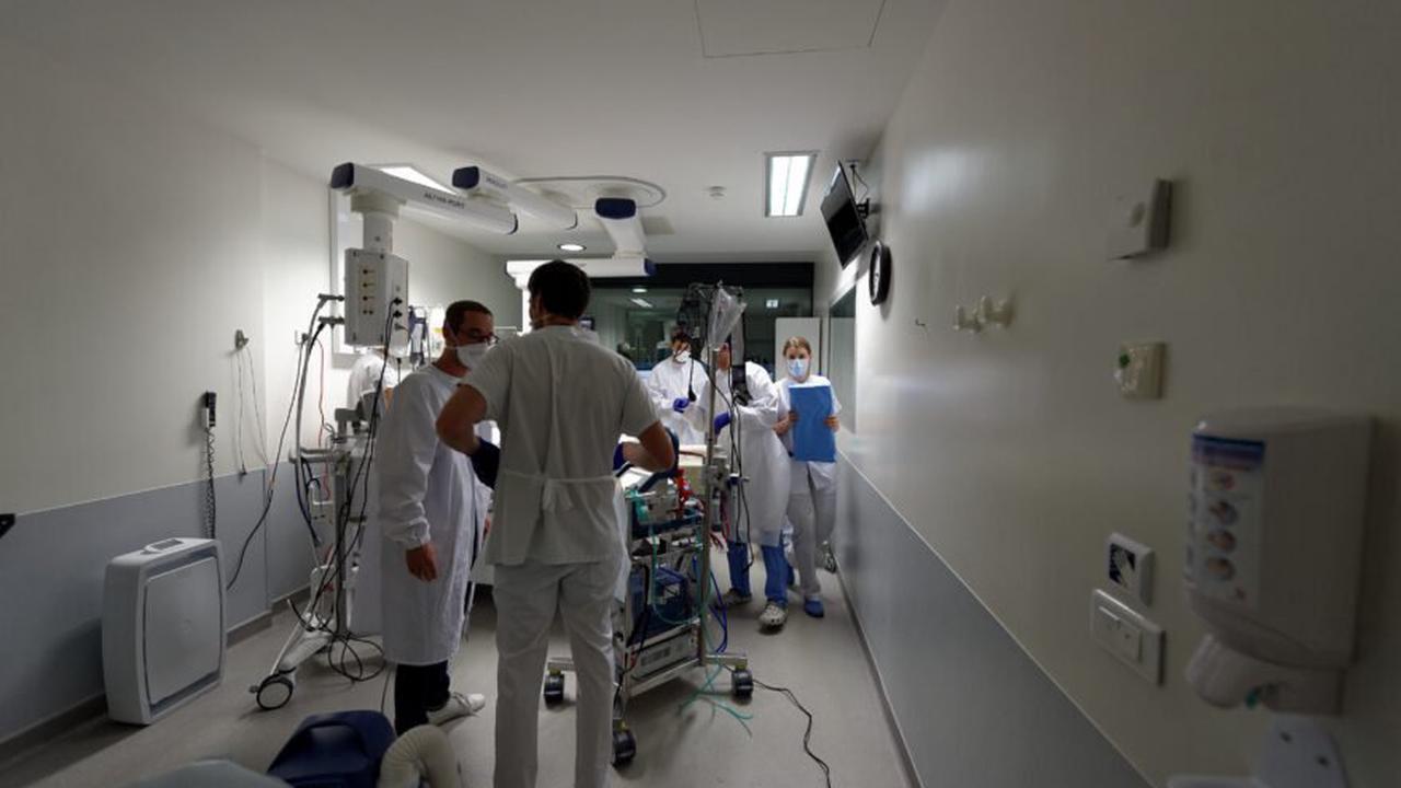 Hospices civils de Lyon: 60% des lits de réa occupés par des patients Covid +