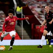 Man Utd youngster reacts after setting new European club record in their goalless draw with Sociedad