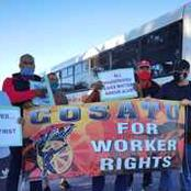 Cosatu Protest Against Golden Arrow Bus Robberies Read More.
