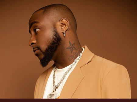 Fans React After Davido Said This About Having A Frog Voice (Photos)