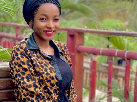 Check Out Some Rare Photos Of Maryam Labarina Without A 'Nose Ring'.