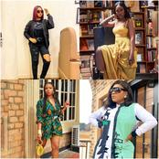 Celebrities: Between Regina Daniels, Tiwa Savage, Yemi Alade And Destiny Etiko, Who Kills The Swag?