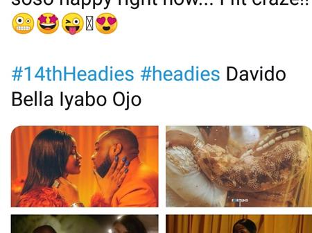 Our Music Video 1milli Won Headies14 Award, I'm So Happy, Can Even Run Mad, Chioma Says