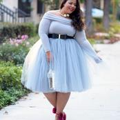 Ladies Dress: Fashionable Plus- Size Outfits for Women