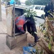 Un voleur de câbles électriques retrouvé mort la tête dans une niche de transformateur