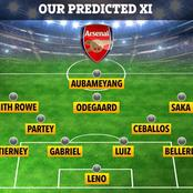 How Arsenal Could Line Up Against Benfica In Crunch Europa League Return Match With Partey Returning