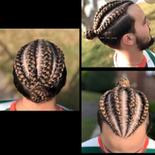Fashion Or Rascality? See 20+ photos Of How These Men Braided Their Hair Like Ladies