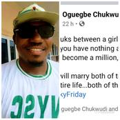 After These 2 Women Helped Me In Life, See Why I Don't Know Who To Marry - Man Reveals