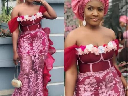 Hello Pretty Ladies Check Out Stunning Photos Of These Pink Eye Popping Asoebi Styles