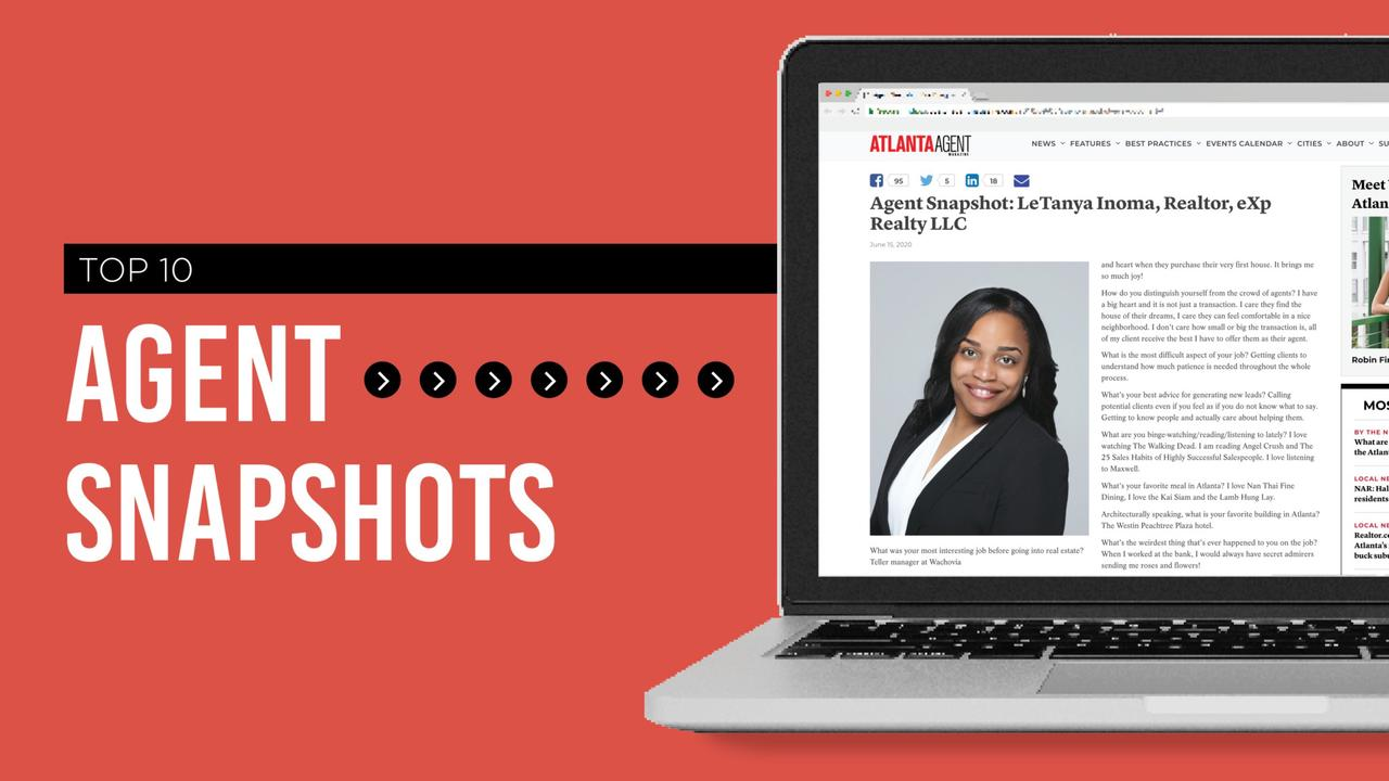 Which agents were turning heads in our 2020 Agent Snapshot?
