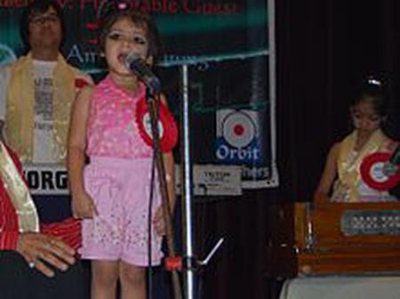 Throwback of the youngest singer ever.