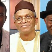 2023: No Goodluck Jonathan Part 2 And El Rufai Can't Be His Running Mate - Reno Omokri Blows Hot
