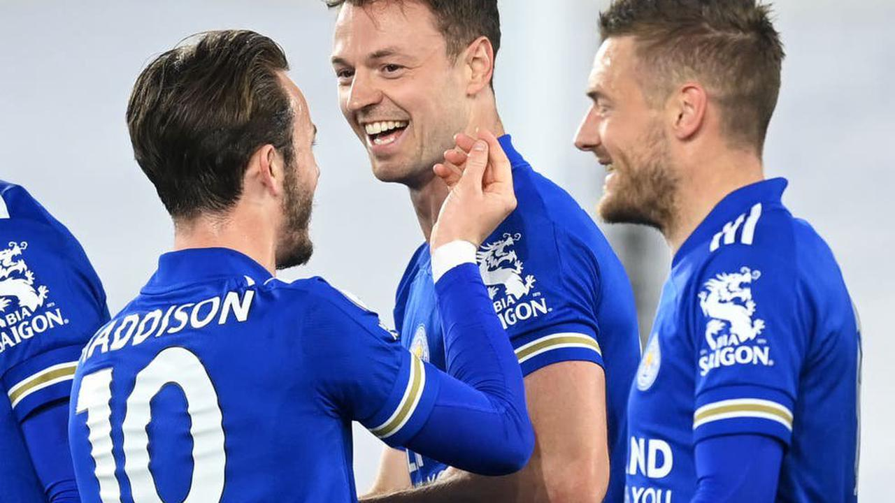 Jamie Vardy ends his goal drought as Leicester cruise past dismal West Brom