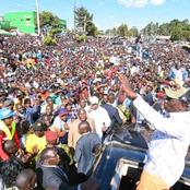 Revealed: Why Ruto Turned To Mother Tongue While Addressing Mammoth Crowd At Nandi Hills