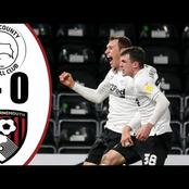 Wayne Rooney's Derby County hand Bournemouth a Championship defeat in latest fixture.(Opinion)
