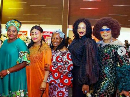Mama G Shares Lovely Photos She Took With Nollywood Stars, Says