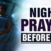Say these Short Prayers Before you Go To bed Tonight, 24th February 2021.