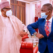 The New EFCC Boss That Assumed Office 2days Ago, See How His First Day In Office Looked Like