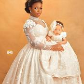 Check Out Some Lovely Photos Of Bambam And Her Daughter