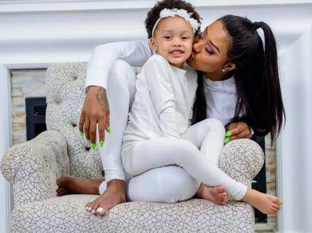 South Africa's celebrities and their daughters : Scroll to see which one is cute