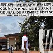 Bouaké: Procès émouvant d'un étudiant en médecine, le message poignant de sa victime