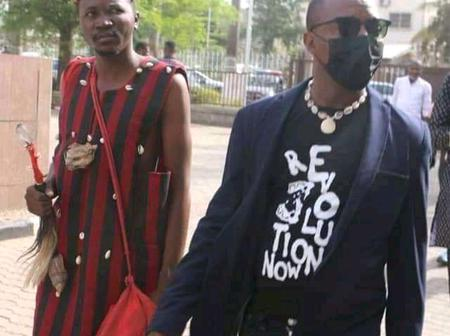 Sowore Spotted With A Herbalist At The Magistrate Court in Abuja!