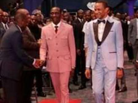 Meet Pastor Paul Eneche's Son Who Owns The Biggest Church In Akwa Ibom State.
