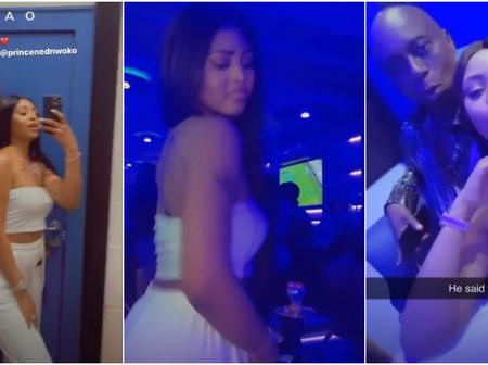 Reactions As Regina Daniel Twerks For Her Billionaire Husband. (Video)
