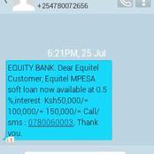 Beware of fraudsters  claiming that Equitel is offering M-Pesa soft loans